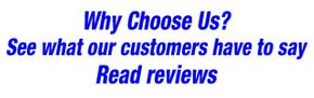 Why Choose Us? Read reviews